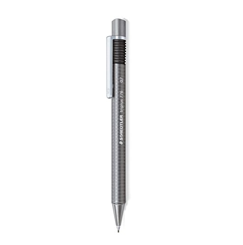 Staedtler Triplus 776 Grey Ergonomic Triangular .7mm Mechanical Pencil