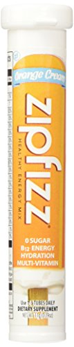 Zipfizz Orange Cream Healthy Energy Drink Mix – Transform Your Water Into a Healthy Energy Drink – 2 Boxes, 30 Tubes Each