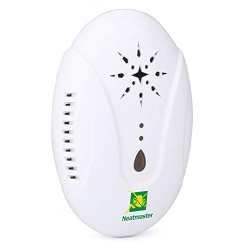 Neatmaster Ultrasonic Pest Repellent - Electronic Pest Control Plug in-Pest Repeller for Insect - Mice, Roaches, Bugs, Fleas, Mosquitoes, Spiders by Neatmaster