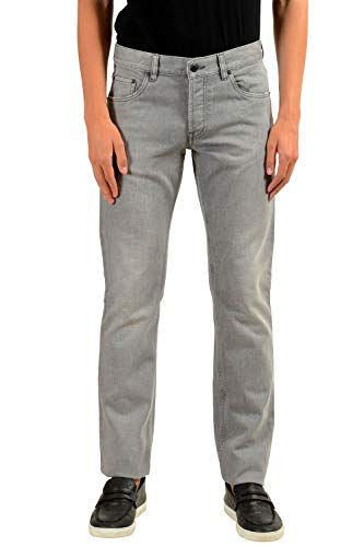 Prada Men's Gray Straight Leg Jeans US 31 IT 47