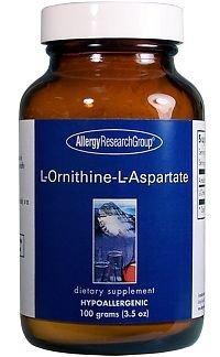 Allergy Research Group L-ornithine-L-aspartate, 100 gramme de poudre