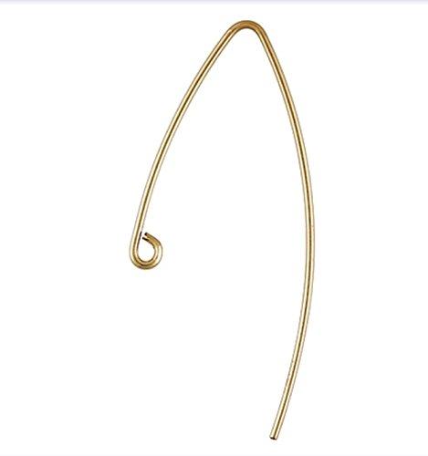 14k Gold Filled V Shape Ear Wires ()