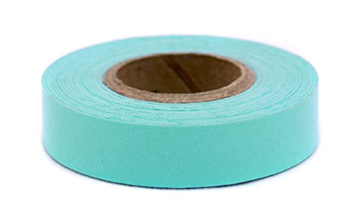 "1/2"" Aqua Color-Code Writeable Labeling Tape 