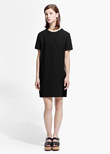 Mango Women's Minimal Dress, Black, 6