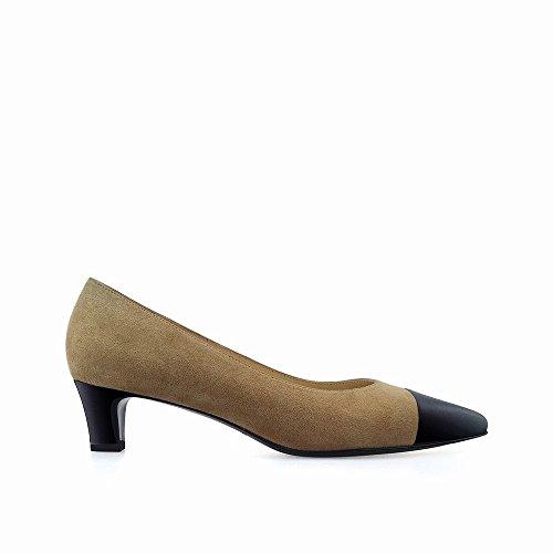 con punta 39 scarpe con a scarpe DHG bocca Nano splicing molto basse superficiale Cachi superficiale wqSpqvFgnW