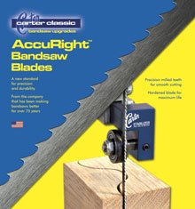 CARTER ACCURIGHT 80 X 3/16 X 10 TPI BANDSAW BLADE ()