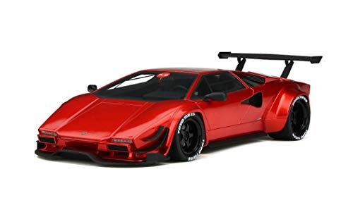 Lamborghini Khyzyl Saleem Huratach Red Limited Edition to 400 Pieces Worldwide 1/18 Model Car by GT Spirit for Kyosho ()