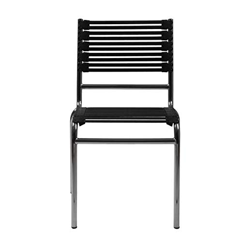 (Deluxe Guest or Conference Chair with Black Bungee Seat (Set of)