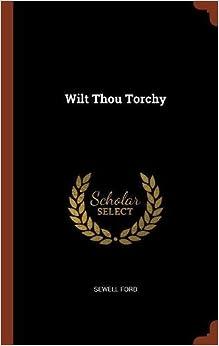 Book Wilt Thou Torchy