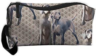 Styleforyou Travel Makeup Dog Weimaraners Cosmetic Pouch Makeup Travel Bag Purse for Women Or Girls