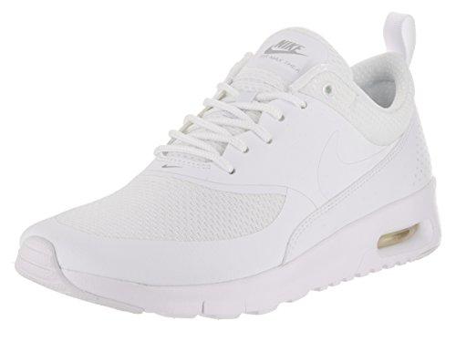 Nike Air Max Thea (Gs), Zapatillas de Running para Niñas White/Metallic Silver/White