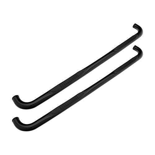 for F-150 SuperCab 2015-2020 90 Degree Bent End Side Step Bars Black Barricade 3 in