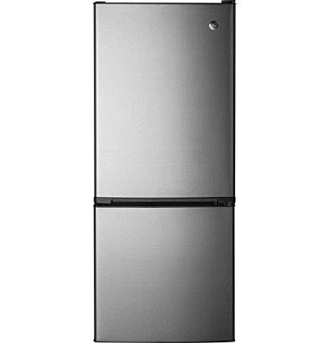 "GE GBE10ESJSB 24"" Energy Star Qualified Bottom-Freezer Re..."