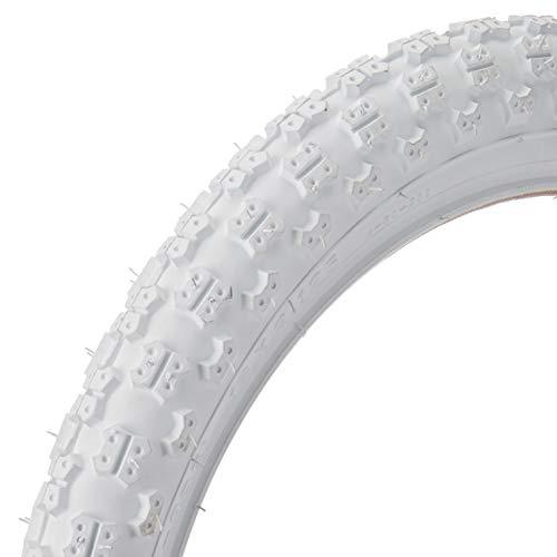 White Bike Tires - Kenda Mx K50, Tire, 16''X2.125, Wire, Clincher, White