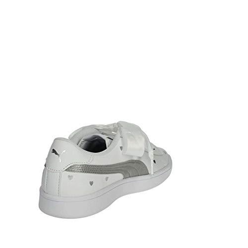 Bianco Donna Puma 02 370782 argento Sneakers wxwqCFH1