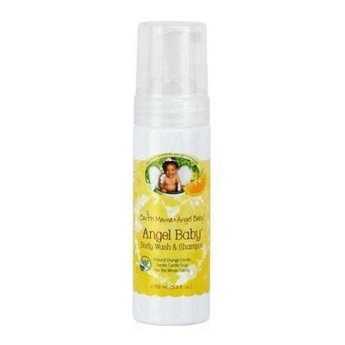 Earth Mama Angel Baby Shampoo and Body Wash -- 5.3 fl oz