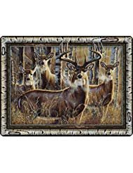 River's Edge Products Multi Deer Glass Cutting -