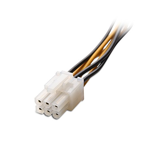 molex to 6 pin how to connect