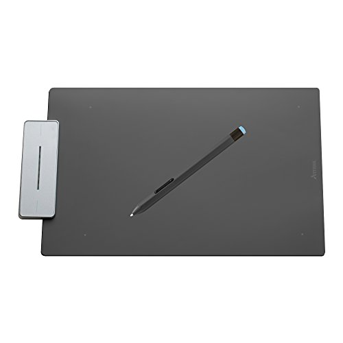 Artisul Pencil Medium Sketchpad - Digital Graphics Tablet and Pen (Metallic Grey)