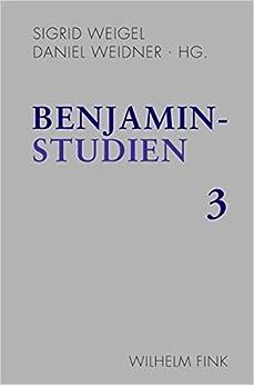Book Benjamin-Studien 3