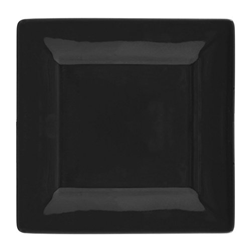 10 Strawberry Street Square 16 Piece Dinnerware Set, Black by 10 Strawberry Street (Image #1)