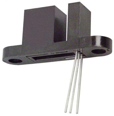 OHB900 - Hall Effect Sensor, Slotted, OHB900 Series, Transistor Output, 400 mV out, 4.5 to 25 Vdc (OHB900) (Pack of 5)