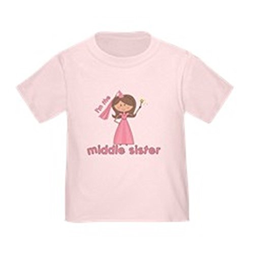 CafePress Middle Sister Toddler T Shirt