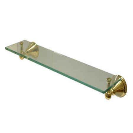 Kingston Brass Governor Glass Shelf (Governor Hook Robe)