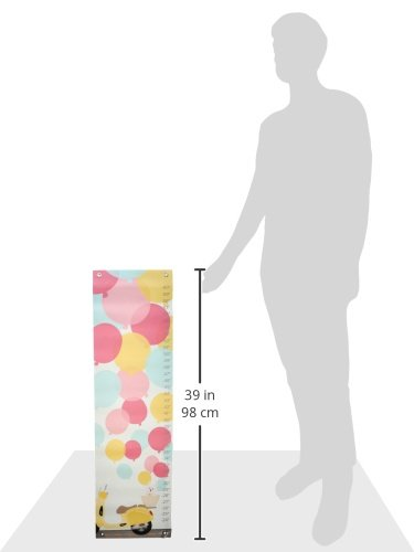 Oopsy Daisy Growth Chart, Balloons, 12'' x 42''