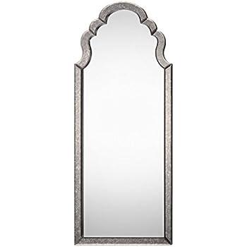 Amazon.com: Oversized Full Length Venetian Art Deco Mirror | Floor ...