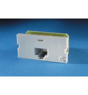 (Ortronics Series II PCB Module, 1/8P8C, 110, 1-Port Cat5e Jack Module T568B, Fog White OR-60950008)