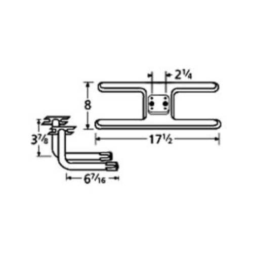 Charmglow Thermos 10902-75812 H Twin Centered 2.25in. Off...