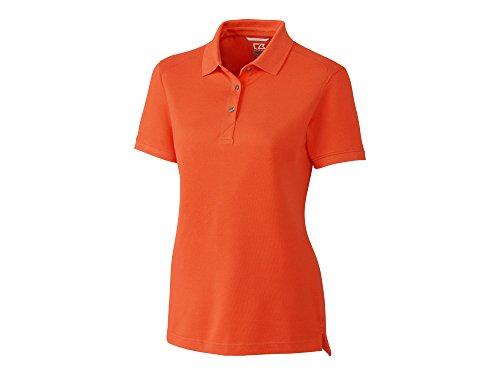 Cutter & Buck LCK08685 Ladies' Advantage Polo, College Orange, XXXL