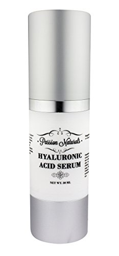 Passion Naturals Best Hyaluronic Acid Serum With Vitamin C A D & E, Anti Aging Anti Wrinkle Serum Lifts and Firms Skin Pure and Undiluted Hyaluronic Acid Cream 30ml
