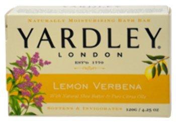 Unisex Yardley London Lemon Verbena w/ Shea Butter Bar Soap 1 pcs sku# - Butter Shea Refreshing Verbena