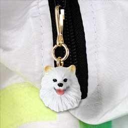 Conversation Concepts American Eskimo Miniature Zipper -