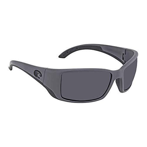 Costa Del Mar Blackfin Sunglasses Matte Gray/Gray ()
