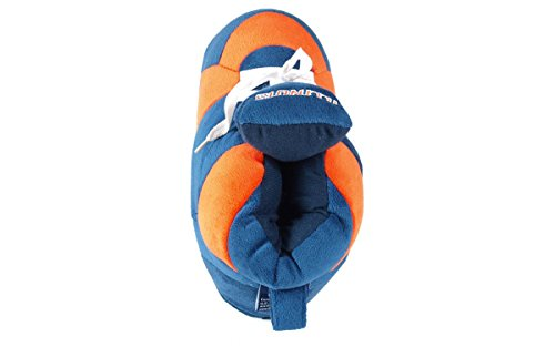 and Happy NCAA Womens OFFICIALLY Feet Men's Illinois Sneaker Fighting Illini LICENSED Slippers College EYEBfqFwr