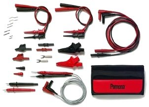 Pomona 5677B Deluxe Multi Use DMM Maxi Test Lead Kit ()