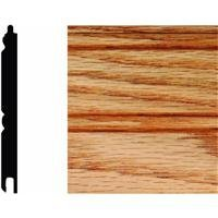 HOUSE OF FARA INC W32O Wainscot, 5/16X3-1/8X32 (Red Oak Tongue And Groove Wainscot Paneling)