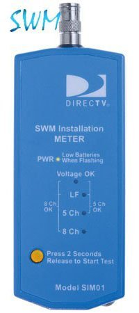 Directv SIM01 Swm Verification Meter - (Directv Satellite Meter)