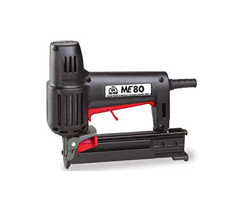 Maestri ME 80 - Heavy Duty Electric Upholstery Stapler   High Industrial Quality Material   Household Upholstery Applications   10,000 Free Staples. (Best Electric Stapler For Upholstery)