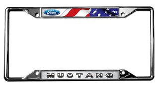 Ford Mustang License Plate (Mustang License Plate Frame)