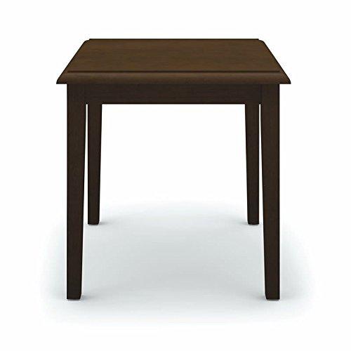 Lesro Lenox End Table, Mahogany Finish