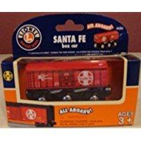 Lionel Santa Fe Box Car Heritage Series Lionel Wooden Trains
