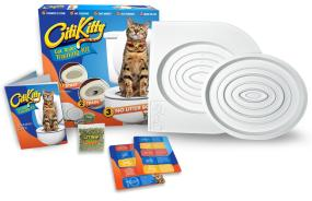 Patented CitiKitty Cat Toilet Training Kit