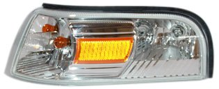 TYC 18-6046-00 Mercury Grand Marquis Front Driver Side Replacement Parking/Signal/Side Marker Lamp - Marker Side Mercury