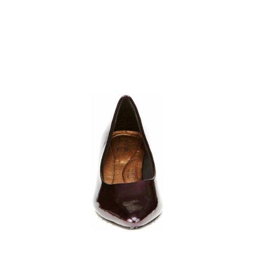 Bomba vestido Alesia suave Estilo Grape Pearlized Patent