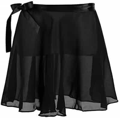 Jacobera Kids Elastic Waist Layered Ballet Tulle Rainbow Tutu Skirt with Hair Bows