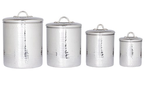 kitchen canister set metal - 9